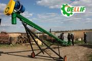 Погрузчик зерновой шнековый транспортер (токовый) Деллиф